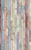 MULTI COLOUR WASH WOOD PLANKS FABLON STICKY BACK PLASTIC 45CM WIDE FREE POSTAGE